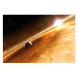 Космические пейзажи. Размер: 30 х 20 см